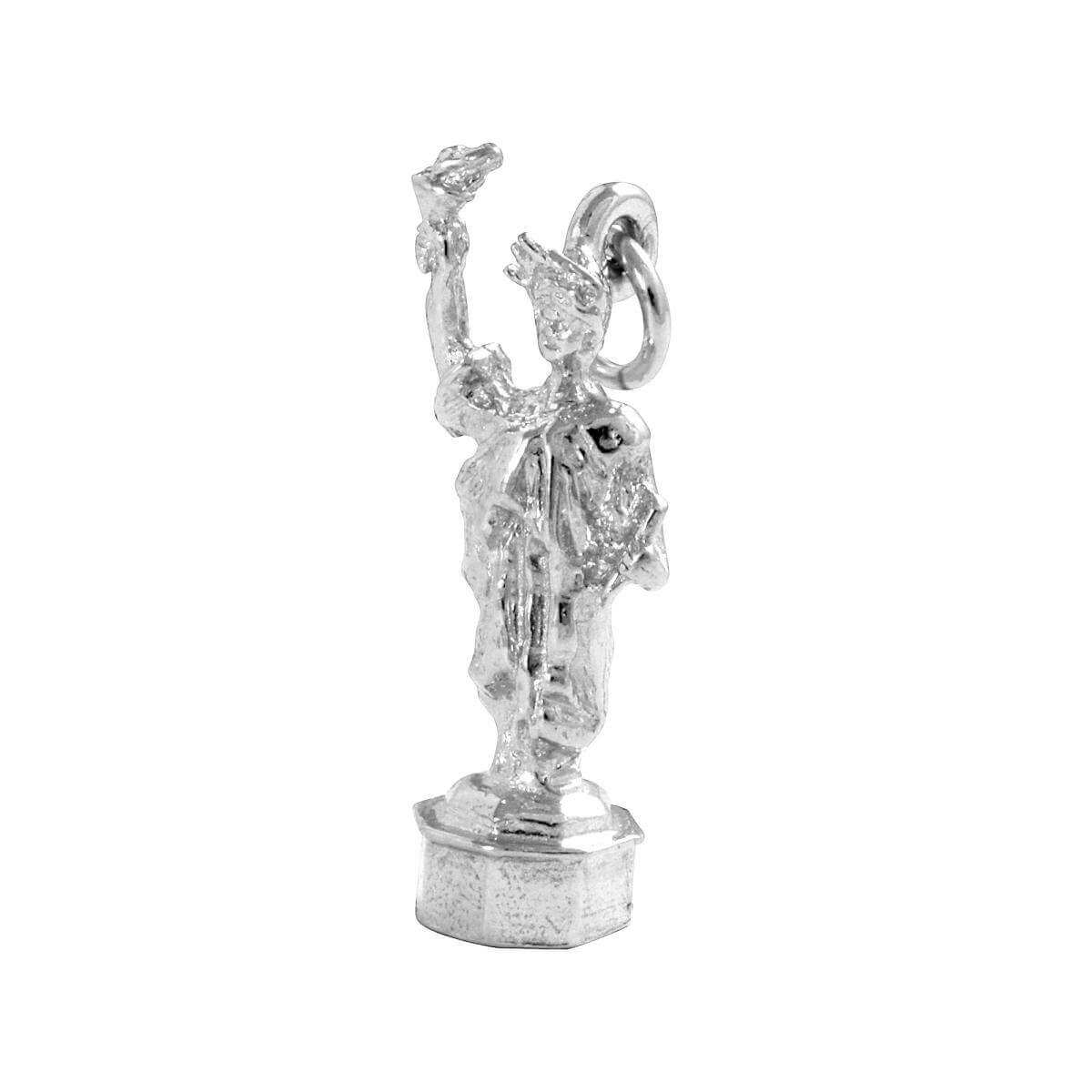 Sterling Silver Statue of Liberty Charm