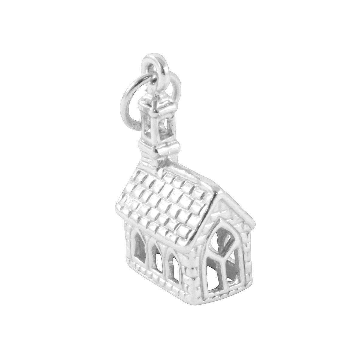 TheCharmWorks Sterling Silver Church Charm