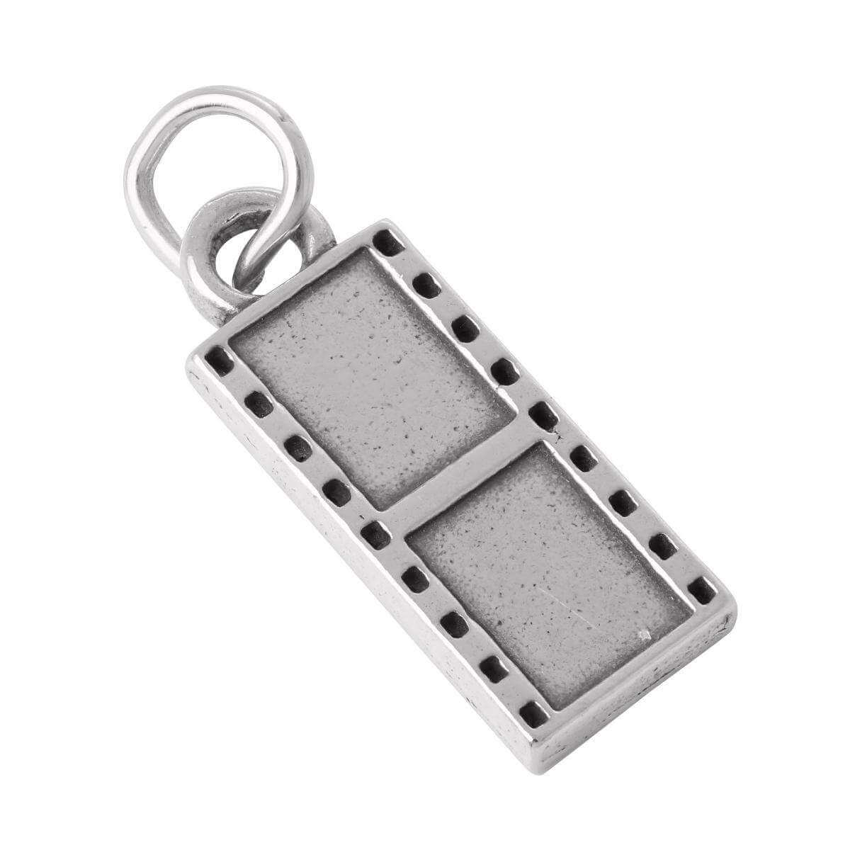 Sterling Silver Film Cell Charm