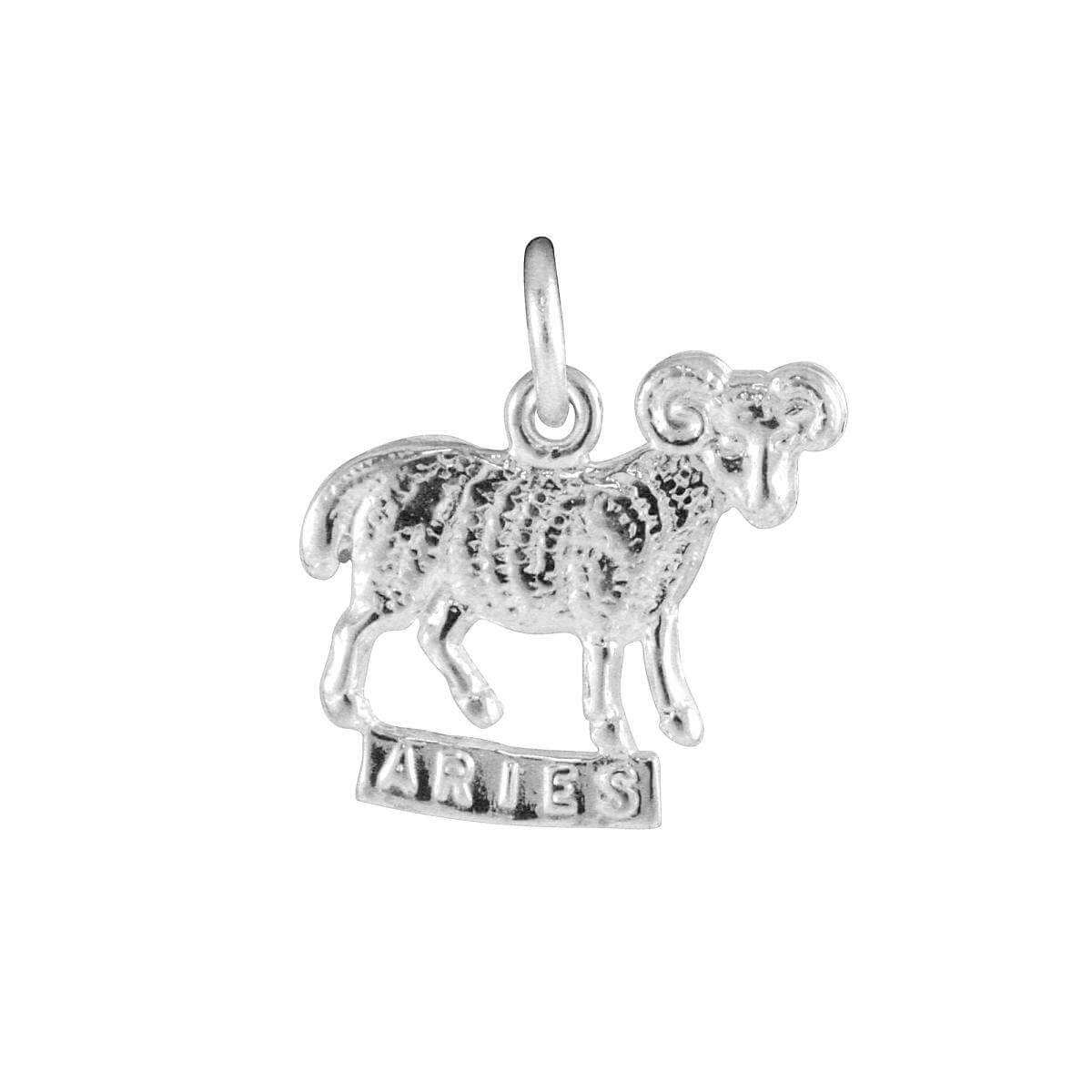 Sterling Silver Aries Ram Charm