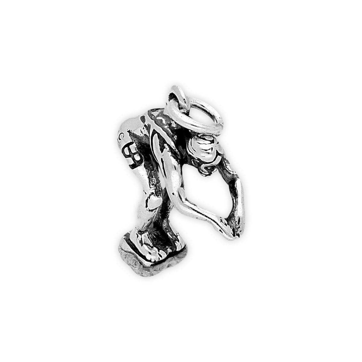 Sterling Silver Diver Charm