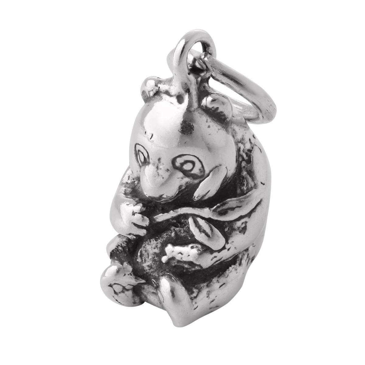 TheCharmWorks 925 Sterling Silver Panda Charm