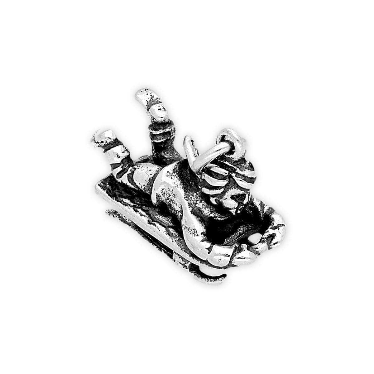 Sterling Silver Sledger Charm