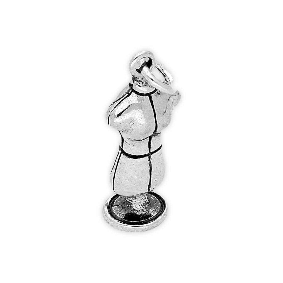 Sterling Silver Dress Makers Dummy Charm