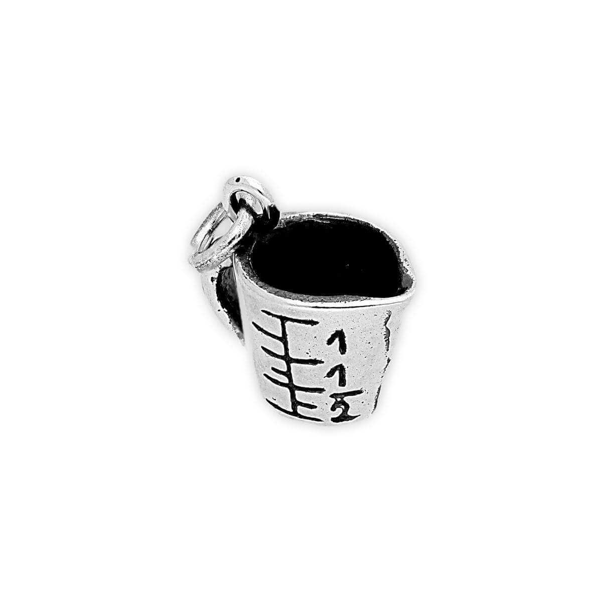 Sterling Silver Measuring Jug Charm