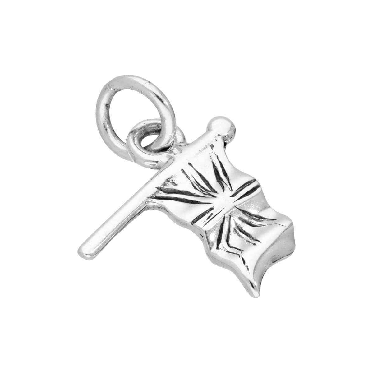 Sterling Silver British Flag Charm