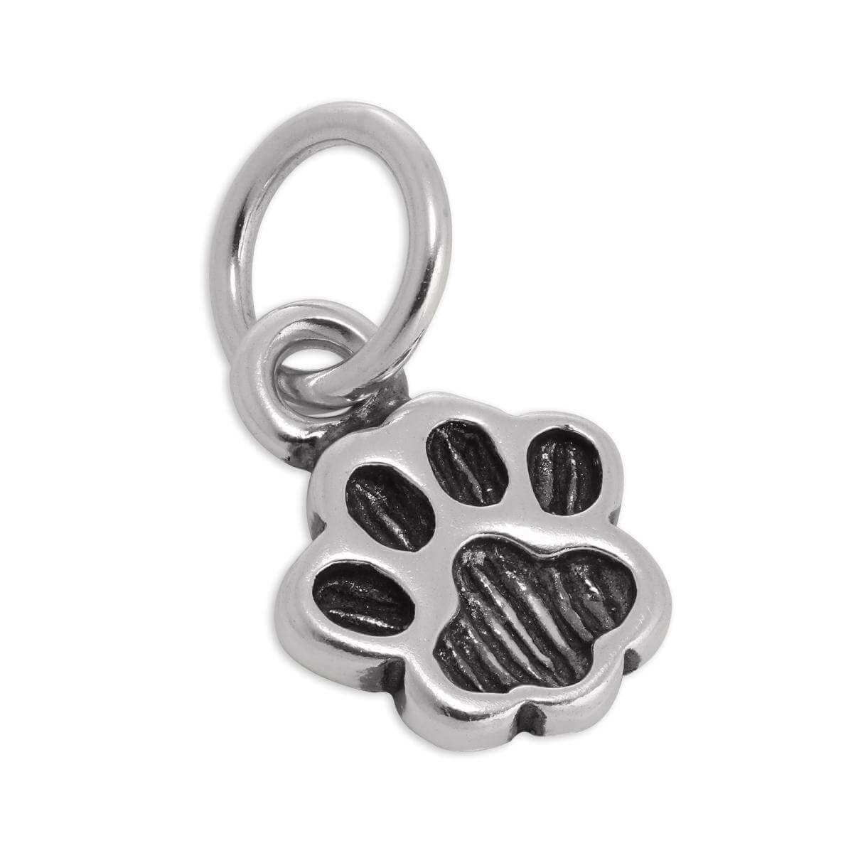 Sterling Silver Animal Paw Charm