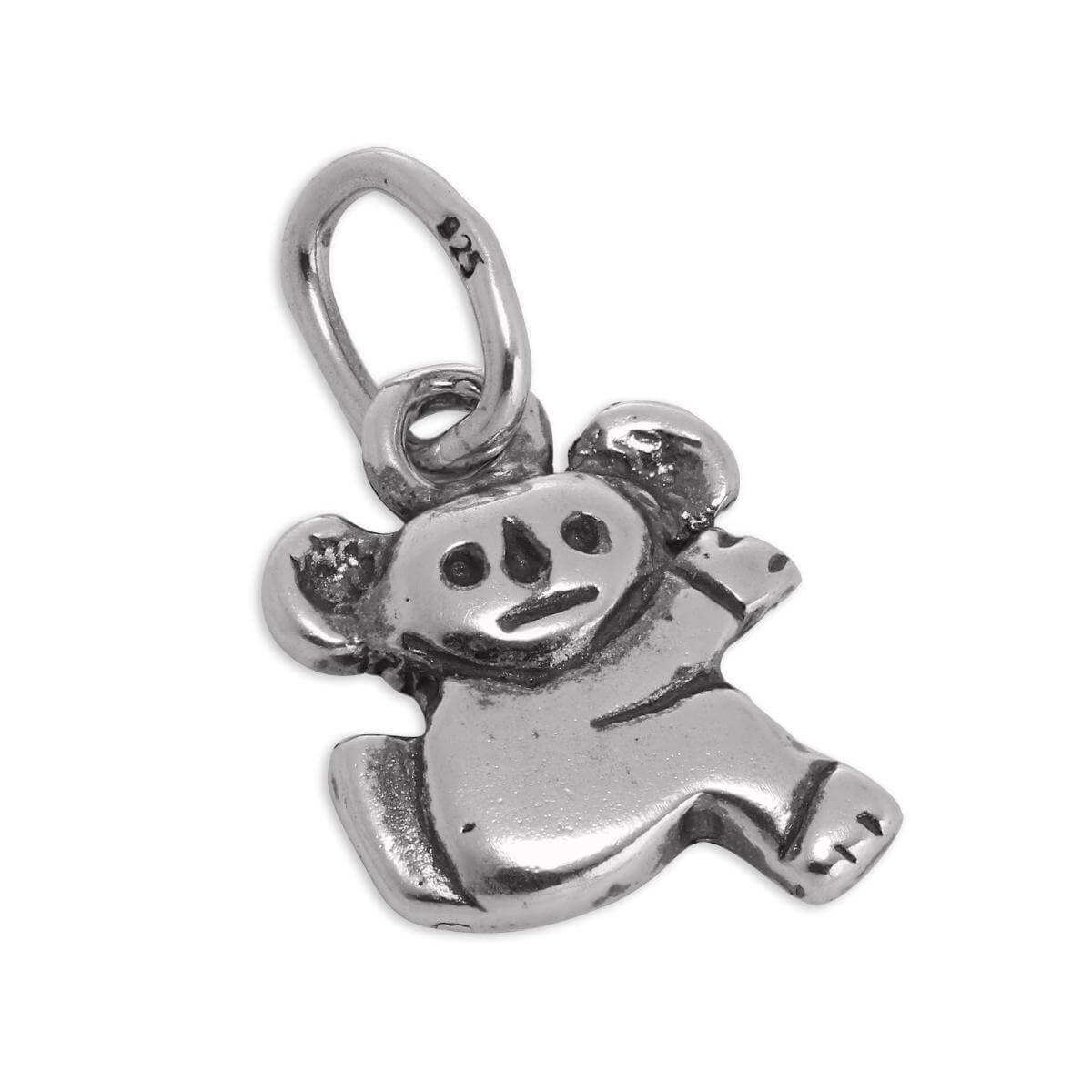 Small Sterling Silver Koala Bear Charm