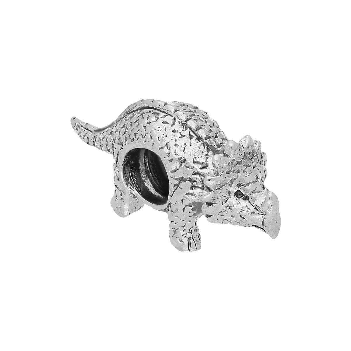 Sterling Silver Dinosaur Bead Charm