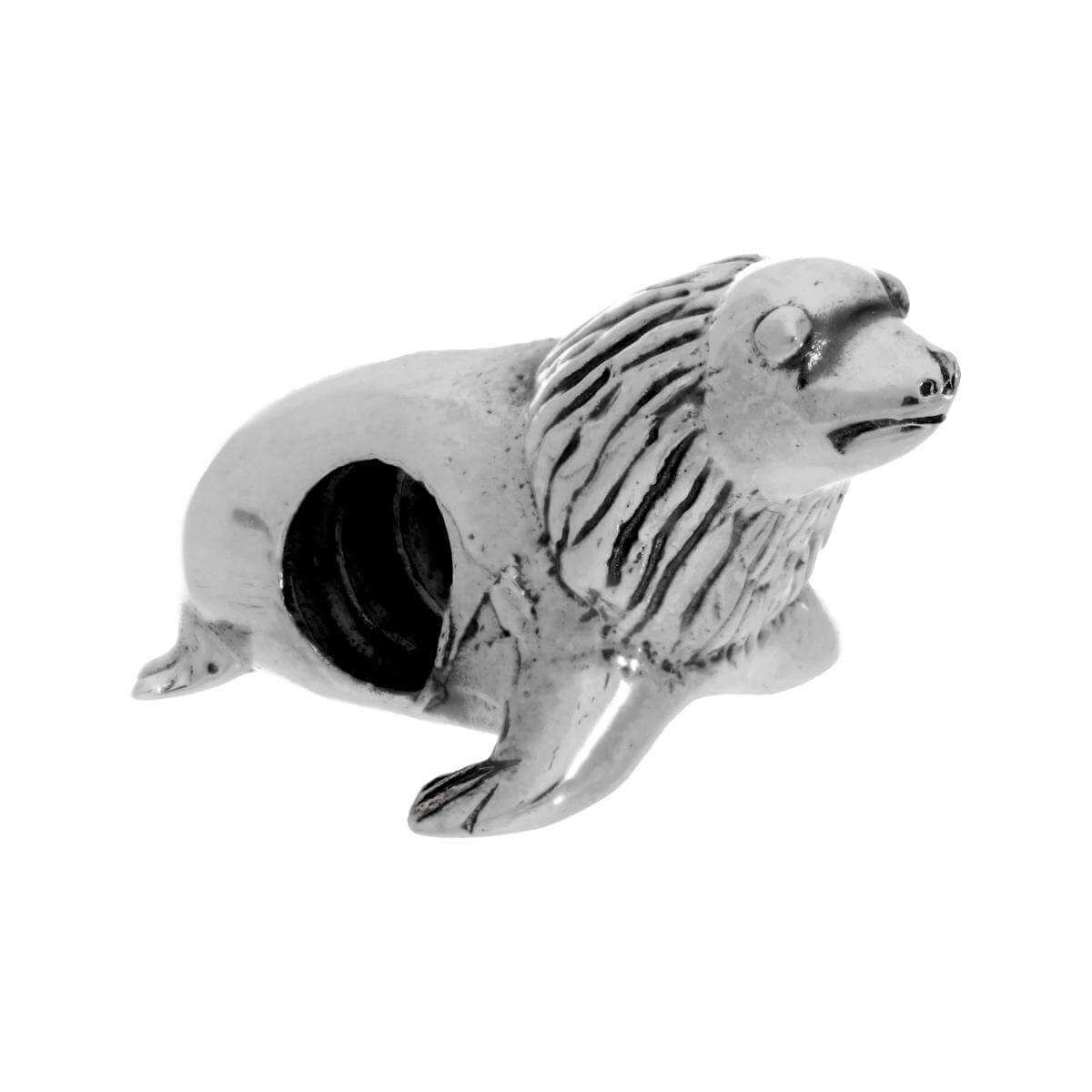 Sterling Silver Sea Lion Bead Charm