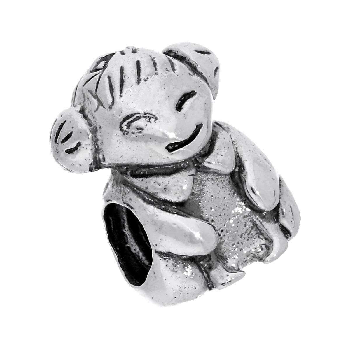 Sterling Silver Woman Bead Charm
