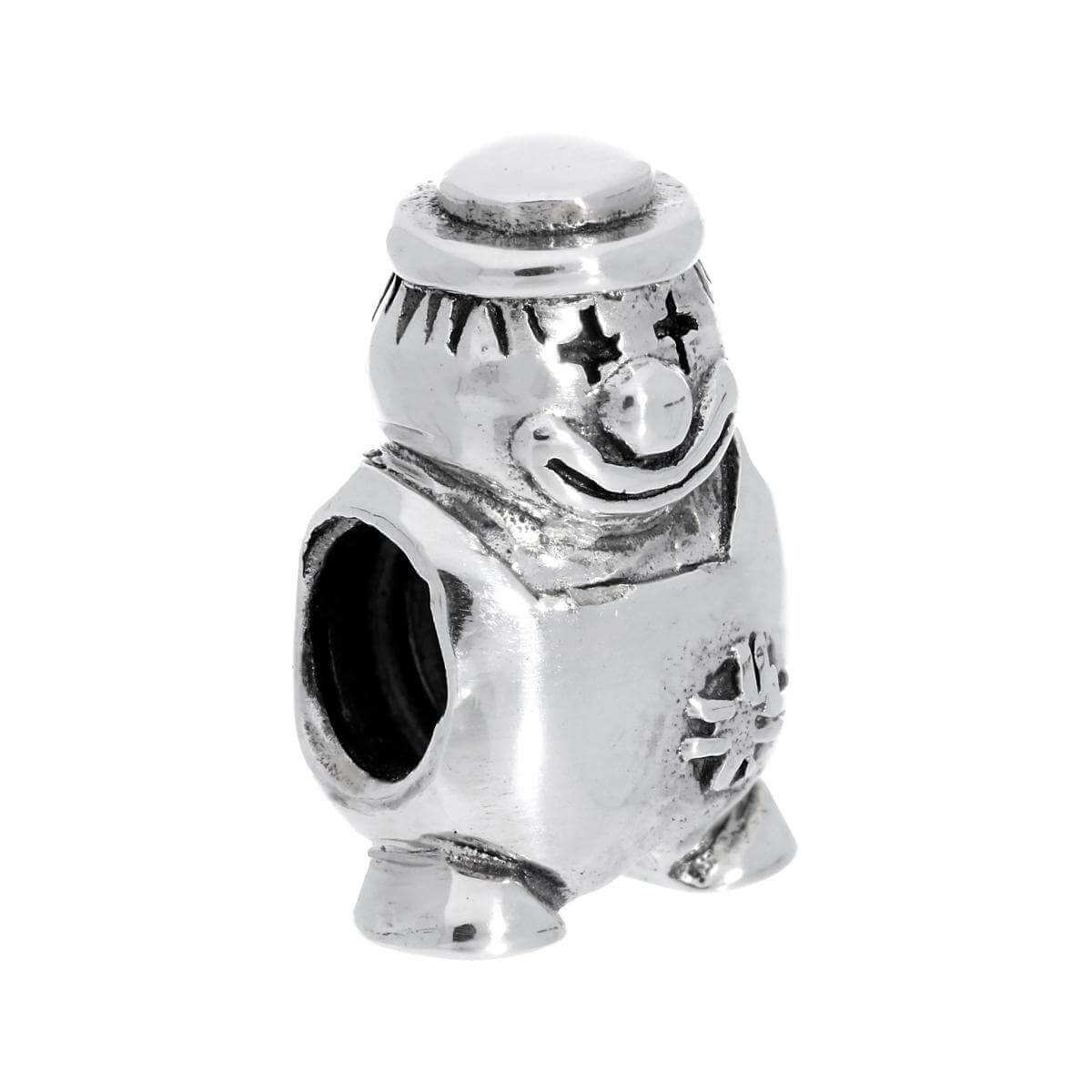 Sterling Silver Clown Bead Charm