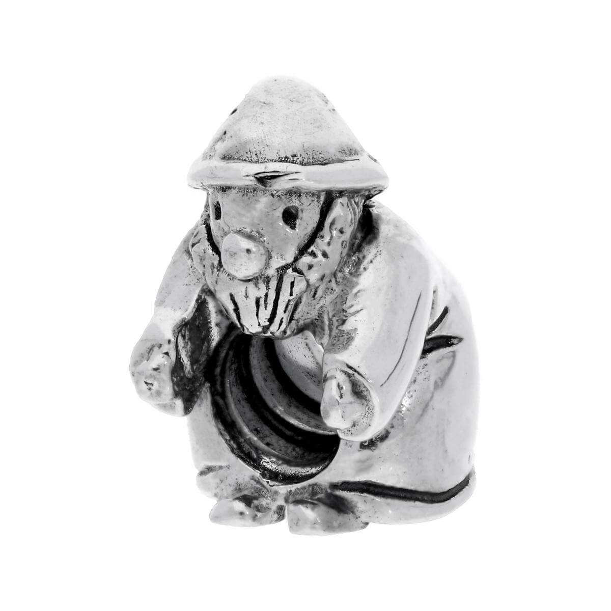 Sterling Silver Gnome Bead Charm