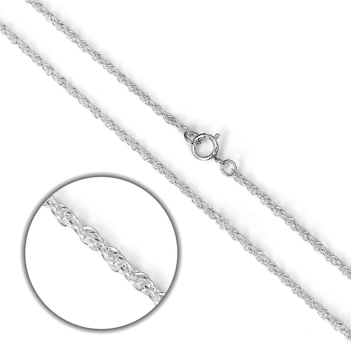 Sterling Silver Prince of Wales Chain